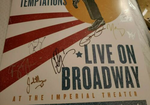 Ain t Too Proud Signed Broadway Poster Derrick Baskin James Harkness Jeremy Pope - $44.99