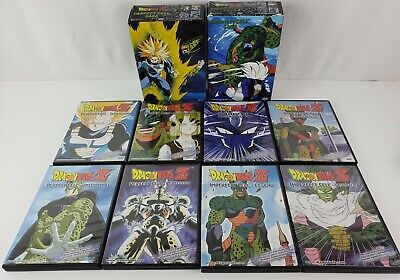 Dragonball Z DBZ Complete Imperfect Cell and Perfect Cell SAGA ARC DVD SETS RARE