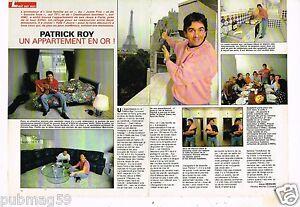 Coupure-de-presse-Clipping-1991-2-pages-Patrick-Roy