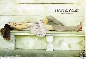 Publicite-Advertising-2011-2-pages-Pret-a-porter-bottes-UGG