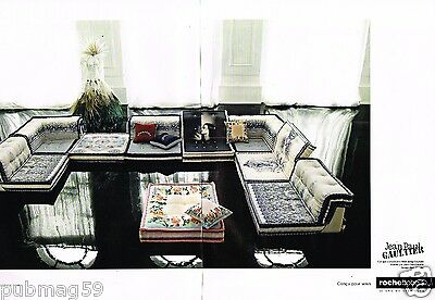 Publicit advertising 2010 2 pages canap roche bobois for Ebay canape roche bobois