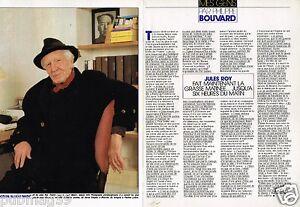 Coupure-de-Presse-Clipping-1989-2-pages-Jules-Roy