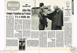 Coupure-de-presse-Clipping-1977-2-pages-Jules-Roy