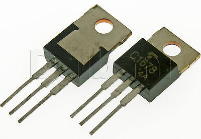 2sc1678 Original Pulled Toshiba Silicon Npn Power Transistor C1678