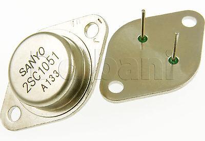 2sc1051 Original Pulled Sanyo Silicon Npn Power Transistor C1051