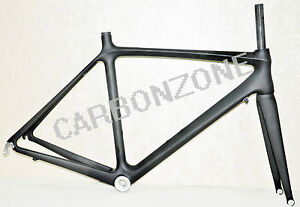 RB002-Matt-3k-full-Carbon-bicycle-Road-bike-non-ISP-carbon-Frames-Fork-headset