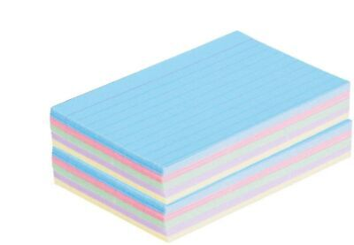 1intheoffice Ruled 4 X 6 Index Cards Assorted Pastel 100pack - 2 Pack