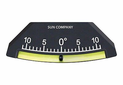 Sun Company Industrial Lev-o-gage 7 - Glass Tube Inclinometer