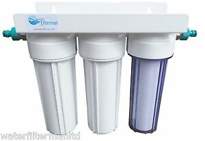 3 stage hma water filter system with hosepipe connectors for Pond water filtration systems home