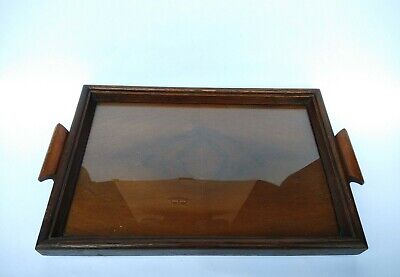 Teak Wood Wooden Photo Frame Multi Purpose Tray Vintage Home Decor Collectable.