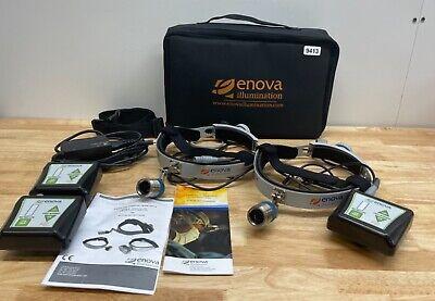 Enova Illumination Xlt-125 Led 70029-002 Surgical Headlight Kit 9413