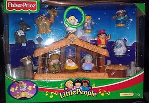 FISHER PRICE LITTLE PEOPLE DELUXE NATIVITY SET-BRAND NEW IN BOX San Remo Wyong Area Preview