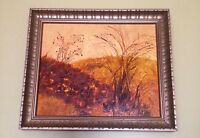 Small Vintage Painting Signed