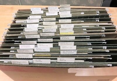 6 Boxes Large Collection Vintage Test Equipment Manuals - Boonton Hp Tektronix