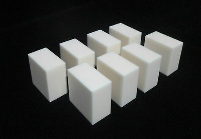 THICK HIGH PURITY ALUMINA CERAMIC BALLISTIC TEST BLOCK 50 x 50 x 28 mm  No.: 520