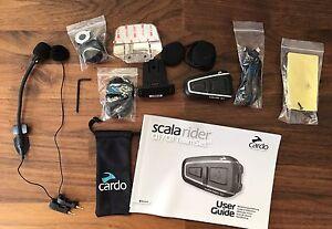 Scala Rider Q1 - Helmet Bluetooth & FM Headset Dakabin Pine Rivers Area Preview