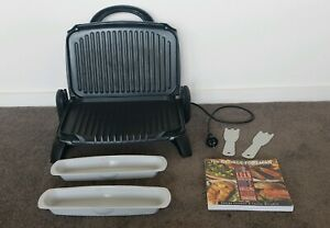 Family / Meal Prep Size, George Foreman Fat Free Grill & Cookbook