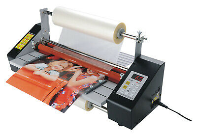 110v 17.3 A2 High Speed Hot Cold Roll Laminator Singledouble Side Lamination