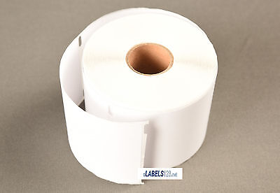 30256 Dymo 4xl Compatible 6 Rolls Address Internet Labels Postage White Blank