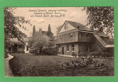 Convent of Sacred Heart Barnes London pc used 1913 Lofthouse Crosbie Ref G215