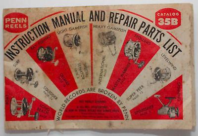 reel parts \u0026 repair instructions manual