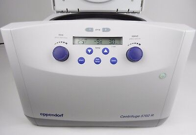 Eppendorf Centrifuge 5702r With A-4-38 Swing Bucket Rotor 230v.