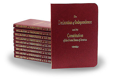 U S  Constitution   Declaration Of Independence Pocket Purse Size