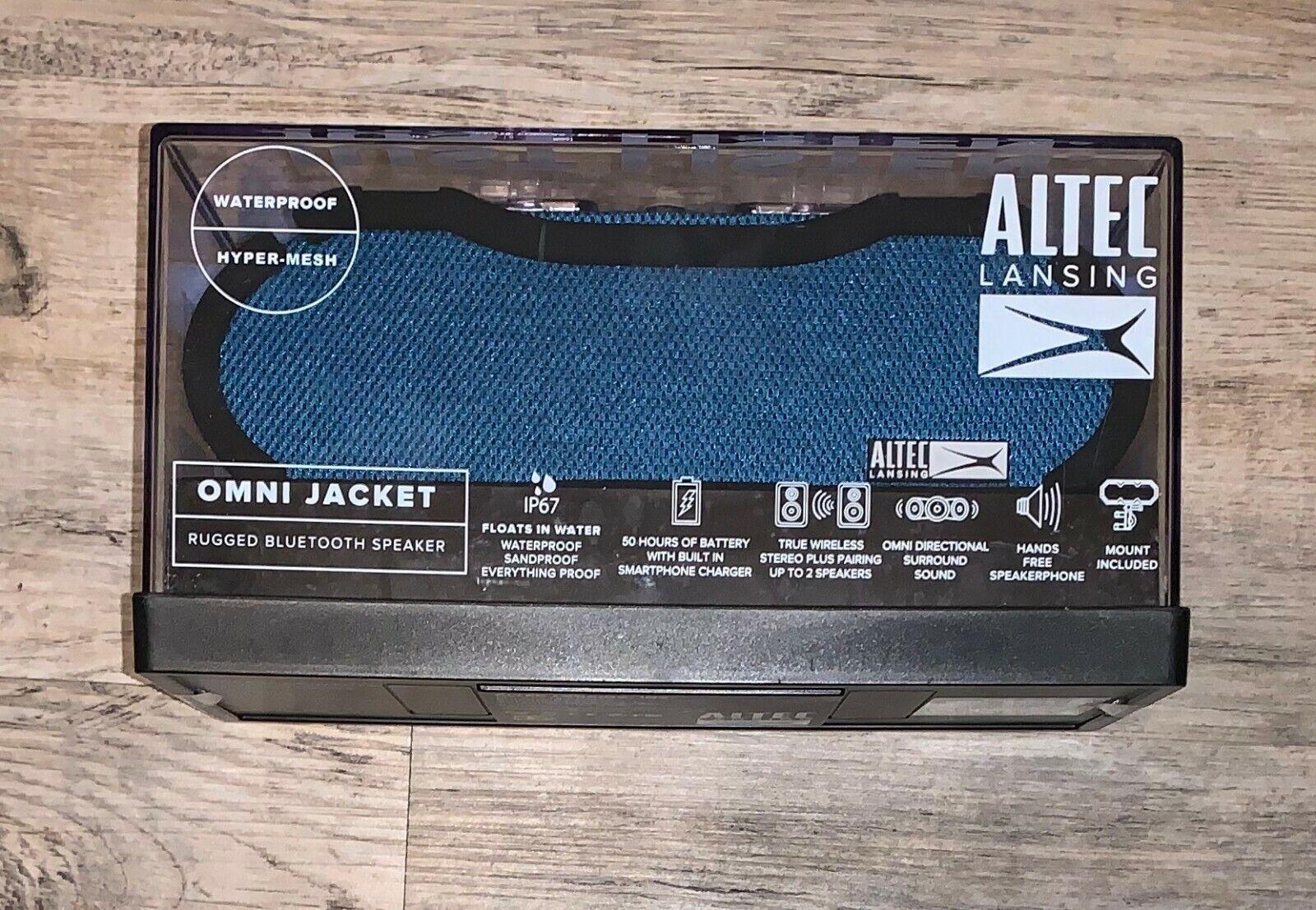 Altec Lansing IMW678-BLU Omni Jacket Wireless NFC Speaker, B