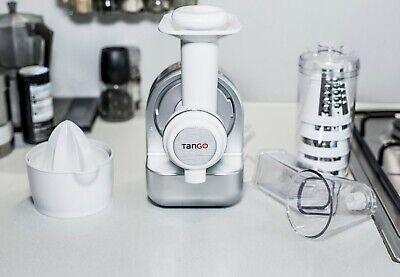 TanGO 3cook. Mandolina eléctrica, heladera y exprimidor. 3 en 1