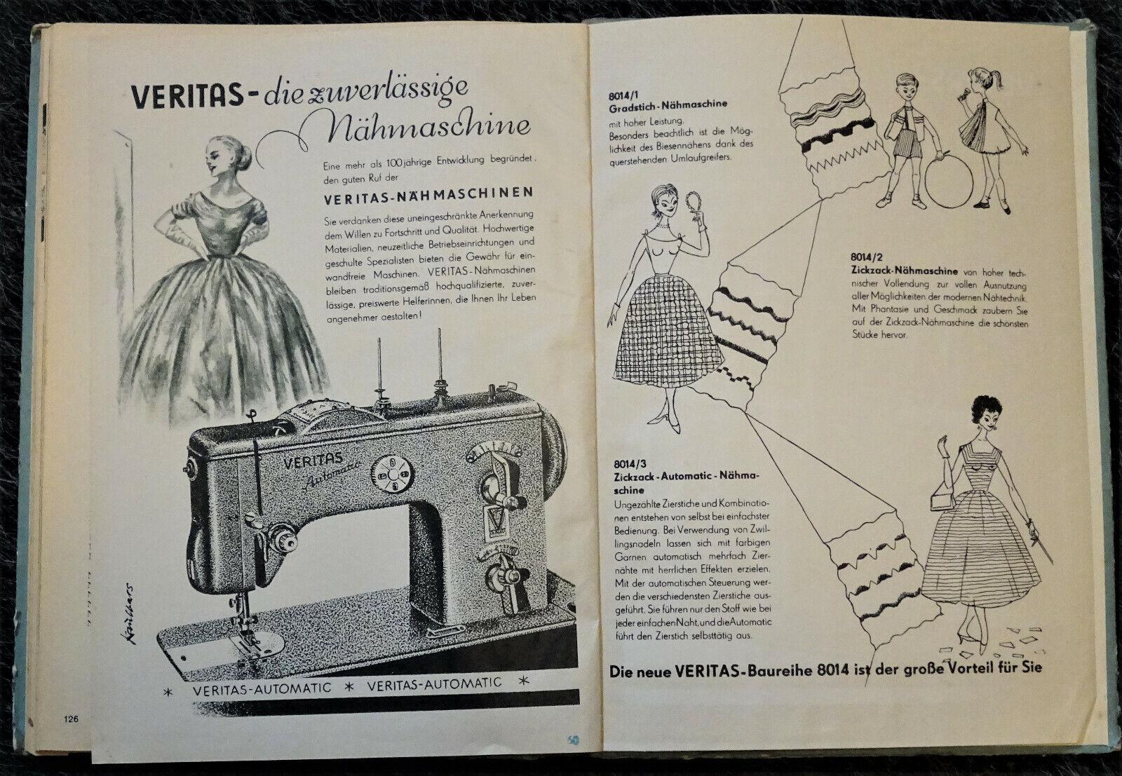 WIR SCHNEIDERN SELBST Grundl. d. Hausschneiderei, DDR 1957; EEK A