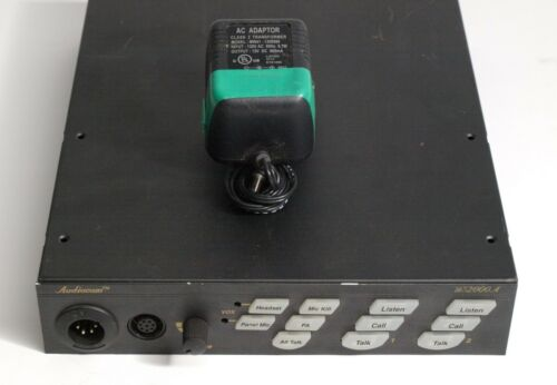 Telex Audiocom US2000A Intercom Base Station