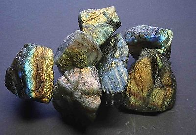 Labradorite 1 Lb Lots Gemstones Natural Spectral Feldspar Rough