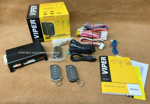 NEW Viper 4806V 2-Way LED Remote Start System w/ Long Range Remote