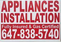 Gas Line & appliances installation Call Bikram for best price