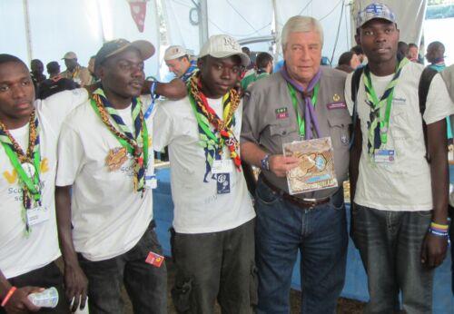 22nd World Scout Jamboree 2011 UGANDA PARTICIPANT CONTINGENT BADGE