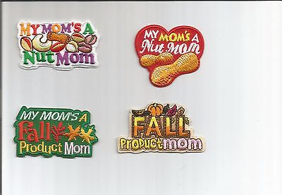 Girl/Boy Scout/Guides Patch/Crest/Badge  NUT and FALL PRODUCT MOM  (your choice) - Mommy Patch Products