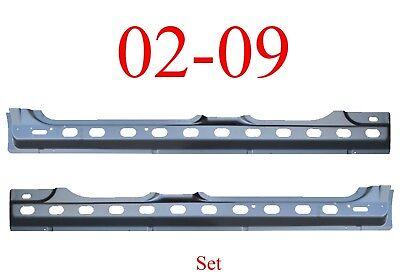 02 09 Dodge Quad Cab Inner Rocker Panel Set, Truck, Both Sides Included!