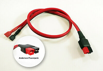 18 45a Dc Power Supply Cord Fits Anderson Powerpole Spade F2 Battery Terminals