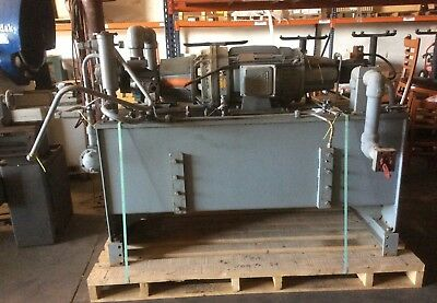 Parker Hydraulic Pump With Dalco 40 Hp Motor From 150 Ton Press