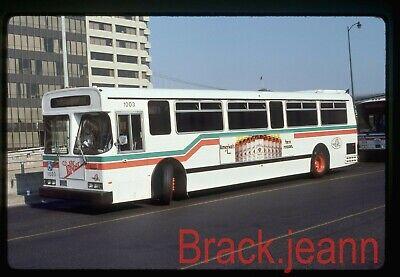 AC Transit (CA) original bus slide # 1003 taken 1987