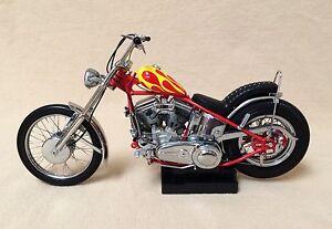 Franklin Mint Harley Davidson Easy Rider Billy Bike Motorcycle Model Chopper