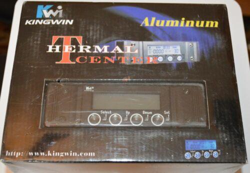 New Kingwin Fan Controller Thermal Center TC-02 Black