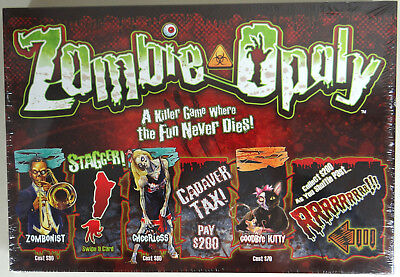 Zombie Opoly Board Game Halloween Late For the Sky 2 to 6 Players New Sealed USA - The Halloween Game 2