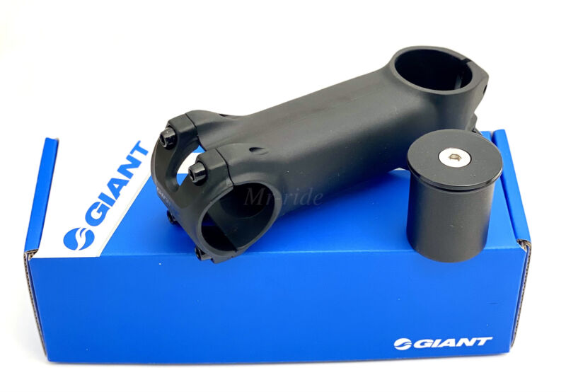 "GIANTt Contact OD2 Bike Stem 50,60,70,80,90,100,110,120mm ±8° 1-1/4,1-1/8"" Black"