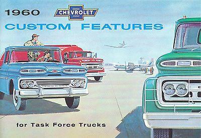 Chevrolet Truck Accessories Brochure - 1960 CHEVROLET TRUCK  GENUINE ACCESSORIES BROCHURE