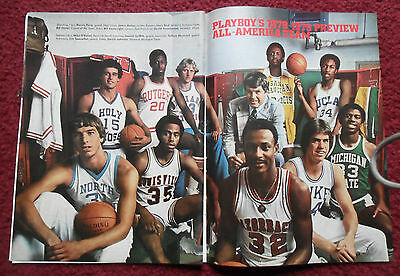 1978 Magazine Photo Page Magic Johnson Michigan Basketball All American Team