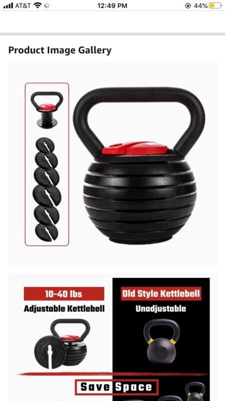 Adjustable Kettlebell Select Tech 840 - Power Core Fitness