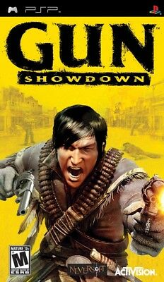 Activision Gun Showdown Psp Sony Psp