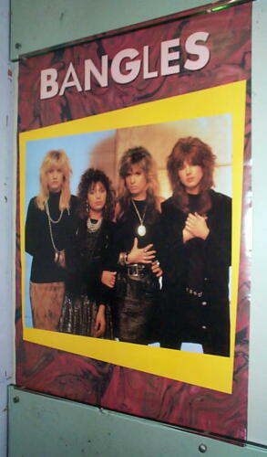 THE BANGLES Vintage Group POSTER-  Last One