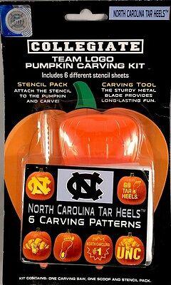 North Carolina NCAA sports pumpkin carving kit - 6 patterns - NEW sealed package](Halloween North Carolina)